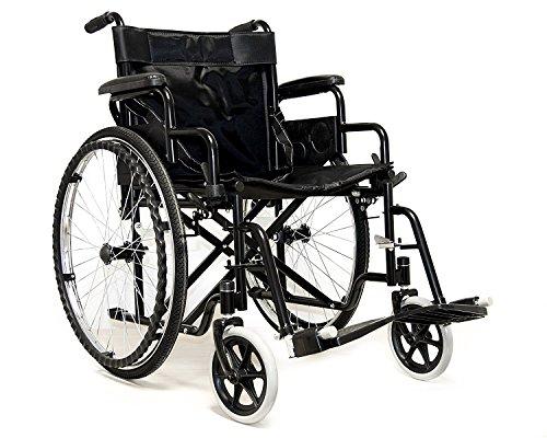 Carrozzina per disabili ad autospinta sedia a rotelle comoda