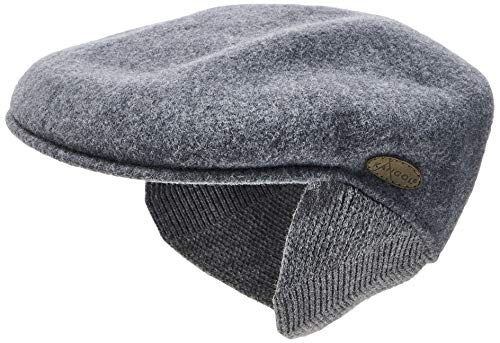 Kangol Wool 504 Earlap Casquette Souple, Gris (Dark Flannel), (Taille Fabricant: X-Large) Mixte