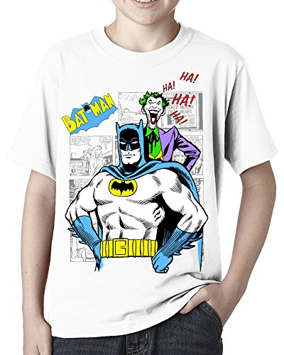 Lukreative Design Classic Batman and Joker Comic Book Graphic Novel - Childs Tee Shirt
