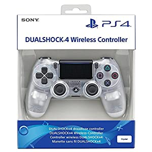 PlayStation 4 – DualShock 4 Wireless Controller, Crystal