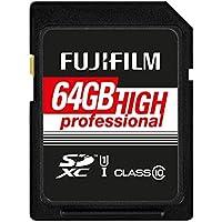 Fujifilm - Scheda di memoria SDHC UHS-I, classe 10 64
