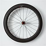 Carbon Wheels 700C Clincher Road Bike 55mm Height 25mm Width UD Matte 20/24h