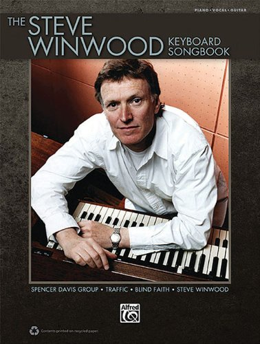 STEVE WINWOOD KEYBOARD SONGBK