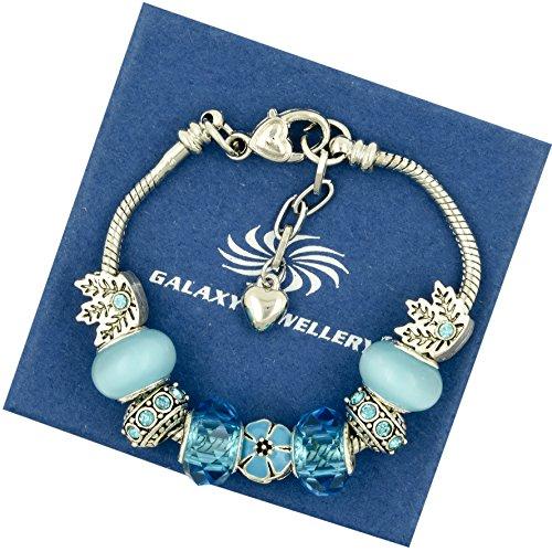 charm-bracelet-blue-flower-cadeau-ideal-pour-les-femmes-et-les-filles-livre-avec-boite-cadeau