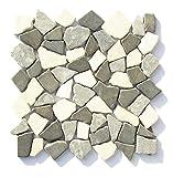 M-009 Marmormosaik Naturstein Mosaikfliesen Bad Fliesen Lager Verkauf Stein-Mosaik Herne NRW