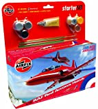 Airfix A55202 Red Arrow BAe Hawk 1:72 Scale Model Medium Starter Set