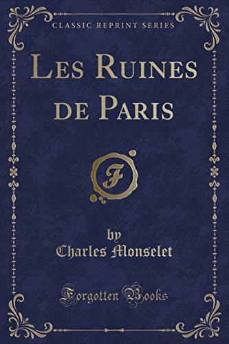 Les Ruines De Paris [Pdf/ePub] eBook