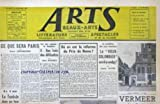 ARTS [No 290] du 22/12/1950 - CE QUE SERA PARIS PAR P. DESCARGUES - LA TUNISIE - LA SCULPTURE PAR JEAN BOURET - LA REFORME DU PRIX DE ROME - LE - VIEUX-COLOMBIER - EST-IL A VENDRE PAR CATHERINE VALOGNE - VERMEER....