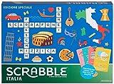 Mattel Games Scrabble Italia - Edizione Speciale, Gioco di Parole Crociate Divertente Anche in Dialetto, per Tutta Famiglia, GGN24