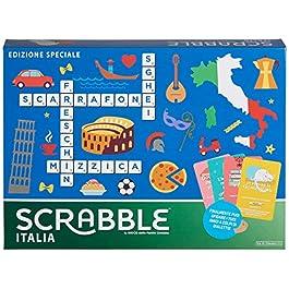 Mattel Games – Scrabble Italia – Edizione Speciale Gioco di Parole Crociate, anche in Di