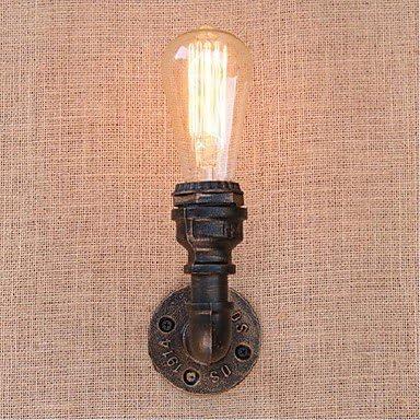 MICHEN Rustico campestre Lampade da Luce Parete Metallo Luce da a Muro 110-120V   220-240V 40W   E27 864400