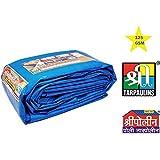 Tarpaulin 100% Pure Virgin UV Treated 125 GSM Blue Water Proof Plastic Sheet
