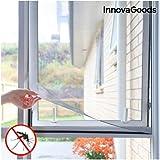Innovagoods bbb_V0100736 vliegengaas zelfklevend voor ramen, transparant
