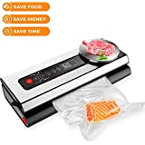 LETO TG Premium Vacuum Food Sealer - 4-In-1 Automatic Saver With Kitchen Weight Scale Sous Vide Bags Packing Machine For Dry & Moist Preservation – Keep Fresh Longer