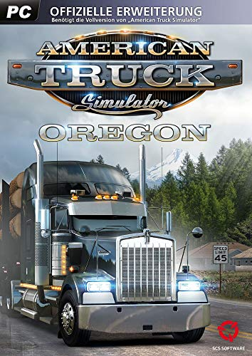 American Truck Simulator: Oregon DLC - Standard  DLC | PC Download - Steam Code (American Simulator Truck)