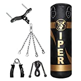 Best RDX jump rope - 3FT Filled Boxing Punch Bag Set, Bracket, Chains Review