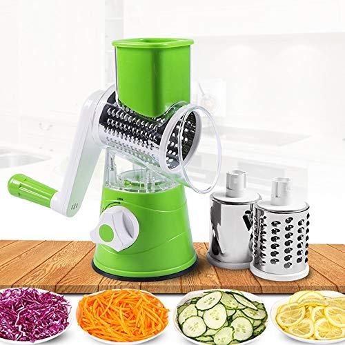 SSFDGNPSQ Multifunktionale manuelle Gemüsemühle Kartoffelschneider Küchenzubehör