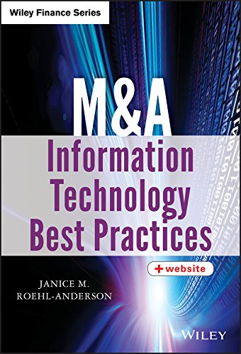 M&A Information Technology Best Practices (Wiley Finance) por Janice M. Roehl-Anderson
