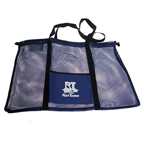 Tauch und Schnorcheltasche 62 x 37 cm von Tusa Netztasche in Blau
