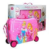 Disney Princess Bagage enfant, 50 cm, 34 liters, Rose (Rosa)