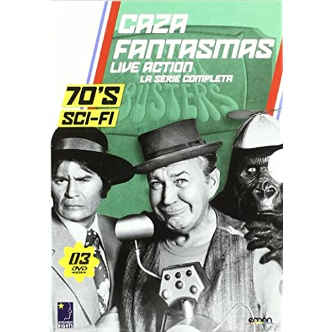 Cazafantasmas Live Action - La Serie Completa The Chost Busters - 70´s Sci-Fi - Norman Abbott y Larry Peerce - 3 DVDs - Neutro audio solo in spagnolo.