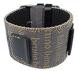 Bruno Banani Ersatzband Unterlageband Mehrfarbig Leder/Textil mit Ziernaht BR25879 BR25877