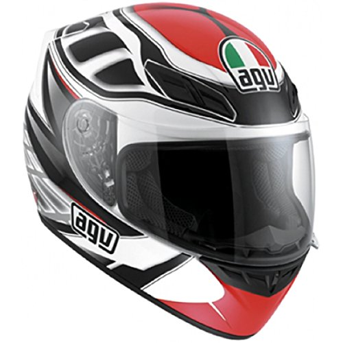 Casco integrale Agv K-4 Evo Diapason White Black Red M
