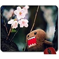 Domo Kun And Tree Blossoms wallpaper Mouse Pad computer Mouse