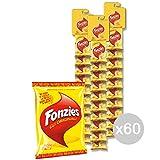Set 60 FONZIES Patatine Stripes Gr 40 4005930 Snack E Merenda Salata