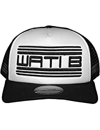 Wati B - Casquette Filet Homme Trucker 2 Tone - White / Black