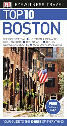 Boston: Top 10 Eyewitness Travel Guide (DK Eyewitness Travel Guide) por Anónimo