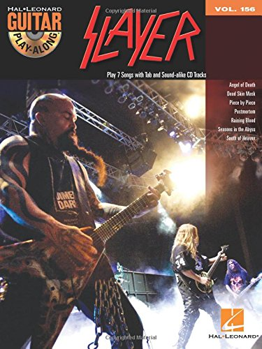 Slayer: Guitar Play-Along Volume 156