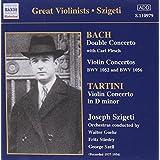 concertos pour violon - double concerto pour violon