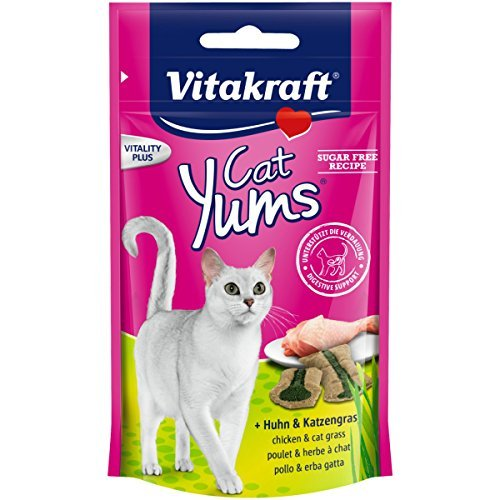 vitakraft-katzensnack-cat-yums-huhn-katzengras-9-x-40g