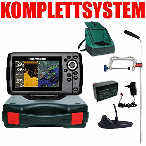 Humminbird Echolot GPS Portabel Profi Plus- Helix 5 Chirp GPS DI G2 Down Imaging