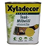 Xyladecor - Aceite para madera de teca, distintos colores y tamaños de botes