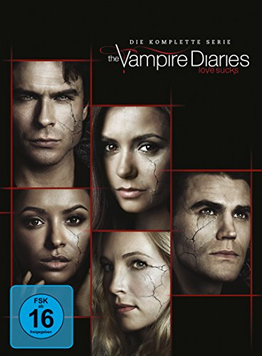 Preisvergleich Produktbild The Vampire Diaries: Die komplette Serie (Staffeln 1-8) [DVD]