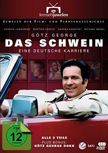 Das Schwein - Eine deutsche Karriere (plus Bonus: Götz George Doku) [2 DVDs]