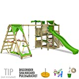 FATMOOSE BananaBeach Big XXL Spielturm mit Surfanbau Schaukel und Rutsche - 3