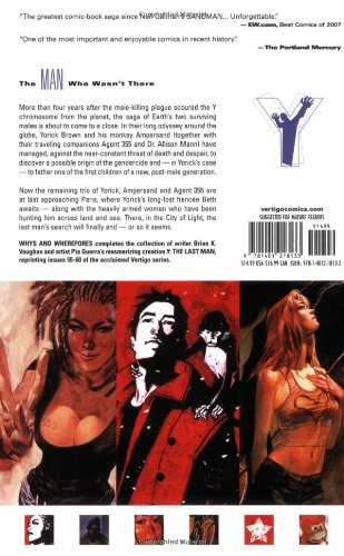 Y The Last Man TP Vol 10 Whys And Wherefores (Y the Last Man (Graphic Novels))