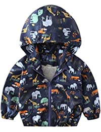 Outtop(TM) Baby-Boys' Coat Autumn Jacket Outerwear Dinosaur Hoodie Windbreaker Clothes