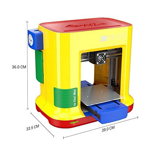 XYZ Printing da Vinci miniMaker 3D printer (fully assembled), FREE for: £12  300g PLA filament, £15 maintenance tools, modelling software, and video