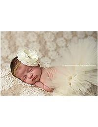 BINLUNNU bebé recién nacido fotografía apoyos niño Niña Crochet ... 1d3a5919e36