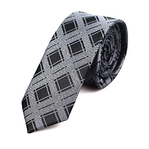 Grüne Gesponnene Krawatte (AMWFF Die Beiläufigen Dünnen Krawatten Der Neuen Polyester Gesponnene Partei Krawatten Art- Und Weiseplaid Punktiert Mann-Krawatte Für Hochzeit Geschäfts-Mannbindung)