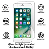 NishTech 2.5D Tempered Glass Screen Protector For Iphone 6/6S Full Screen Coverage
