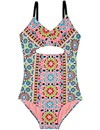 f7c39490e7 Gossip Girl Big Deco Diamond One Piece Swimsuit