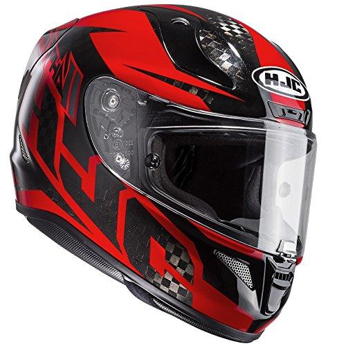 Hjc Rpha 11casco integrale moto sport–Lowin Carbon rosso