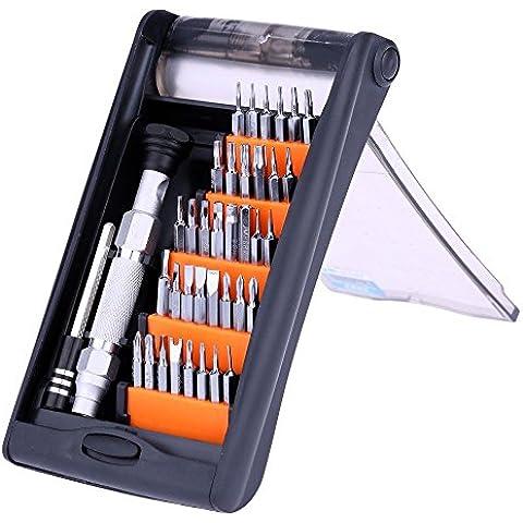 Jakemy jm-815138in 1Professionale ad alta precisione cacciavite Set multifunzione strumenti di riparazione Kit per telefoni PC Elettronica manutenzione