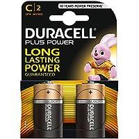 Duracell Plus Power Type C Alkaline Batteries, Piece of 2