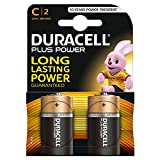 Duracell Plus Power C Batterie Alcaline, confezione da 2